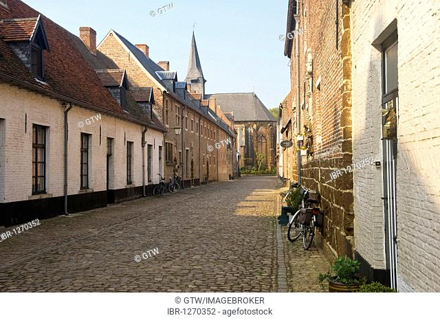 Beguinage of Diest, UNESCO World Heritage Site, Belgium, Europe