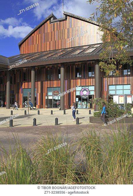 Chile, Lake District, Frutillar, Teatro del Lago, theatre, concert hall,