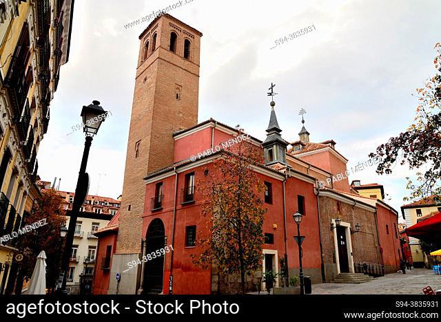 Church of San Pedro el Viejo, Madrid, Spain