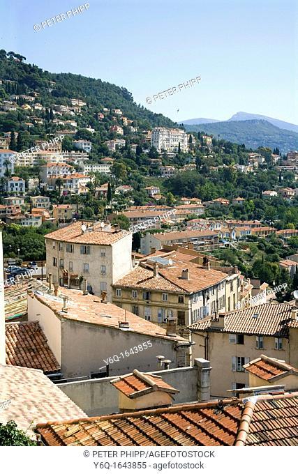 City of Grasse in South of France