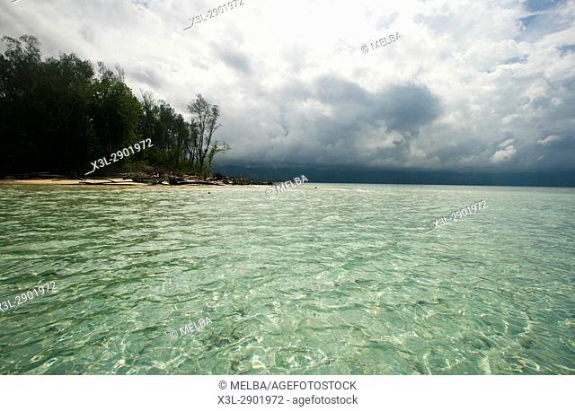 Island in Gorontalo. Sulawesi. Indonesia