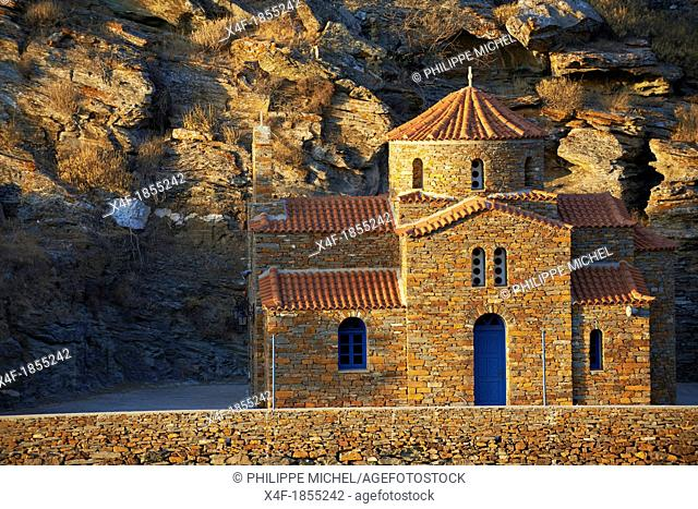 Greece, Cyclades Island, Kea Island, Old Church