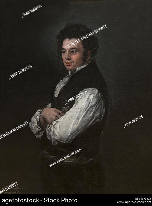 Tiburcio Perez y Cuervo, Francisco Goya, 1820, Metropolitan Museum of Art, Manhattan, New York City, USA, North America