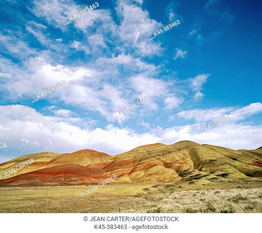 Painted Hills. John Day Fossil Beds National Monument. Oregon. USA