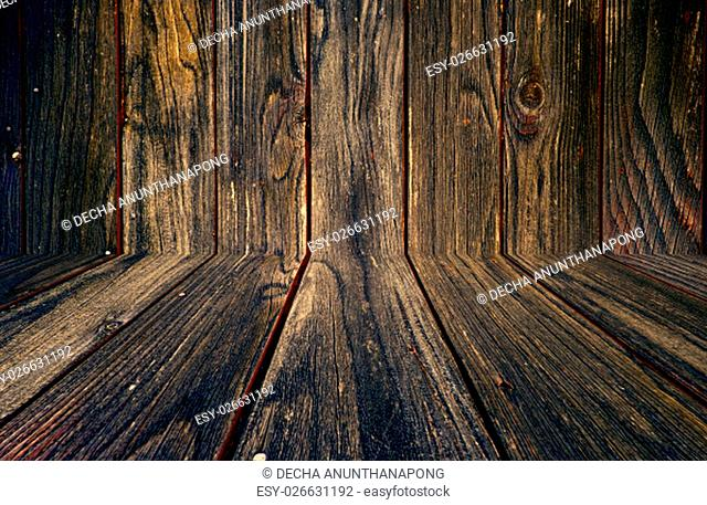 The brown barn wood wall. Wall texture background pattern