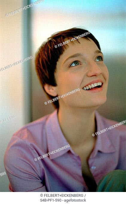 Young Woman - Half-Portrait