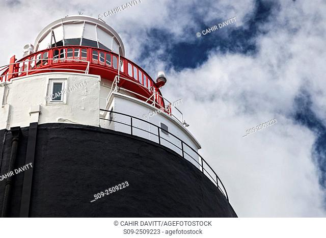 Architectural detail of the Hook Lighthouse, Hook Head, Churchtown, Co. Wexford, Ireland