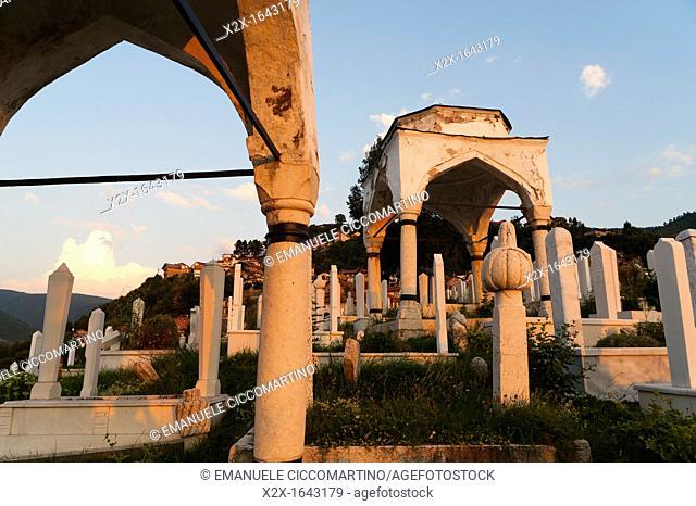 'Jusuf vezira Turbe' cemetery, Sarajevo, capital of Bosnia and Herzegovina, Europe