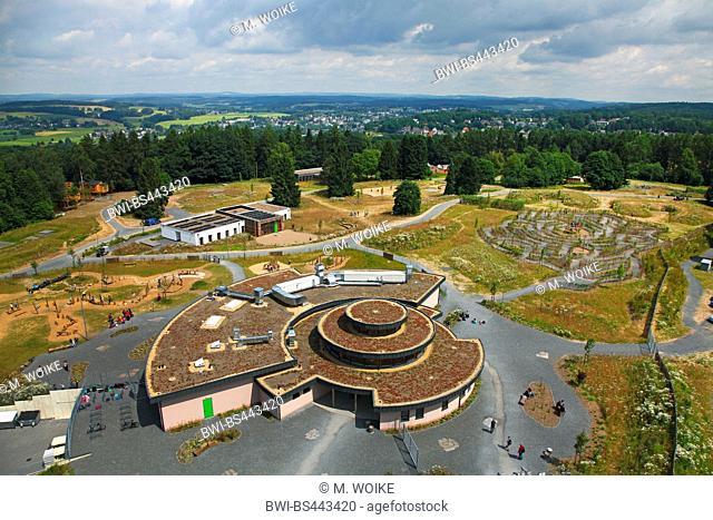 view of the Panabora adventure park, Germany, North Rhine-Westphalia, Waldbroel
