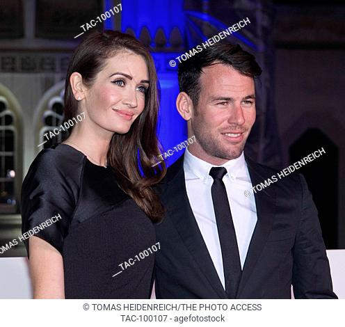 Mark and Peta Cavendish attends in Guild Hall on 14th December 2016, London, England