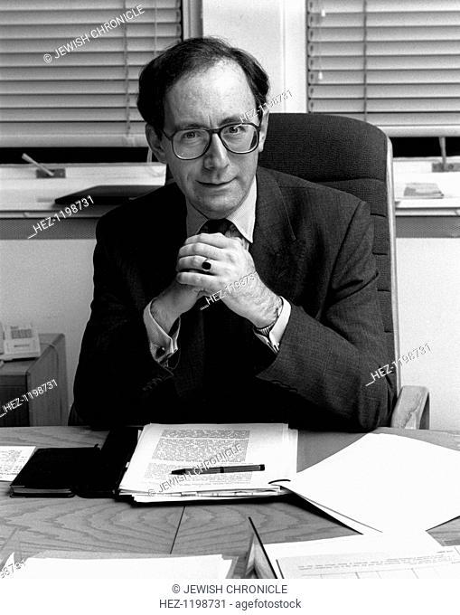 Malcolm Rifkind (1946- ), British Foreign Secretary, 1991