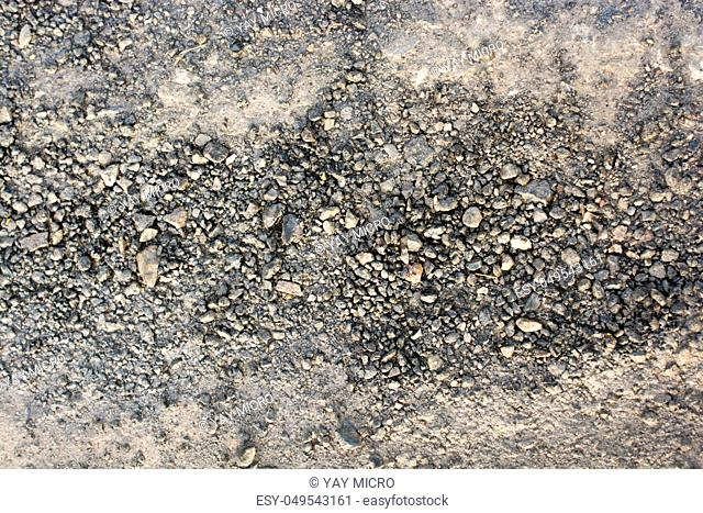 Sand stones textured as abstract grunge background