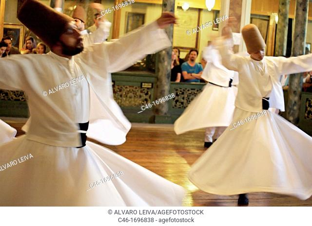 Whirling Dervishes  Istanbul  Turkey