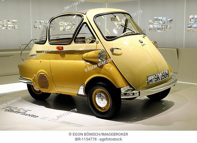 BMW Isetta, BMW Museum, Munich, Bavaria, Germany, Europe