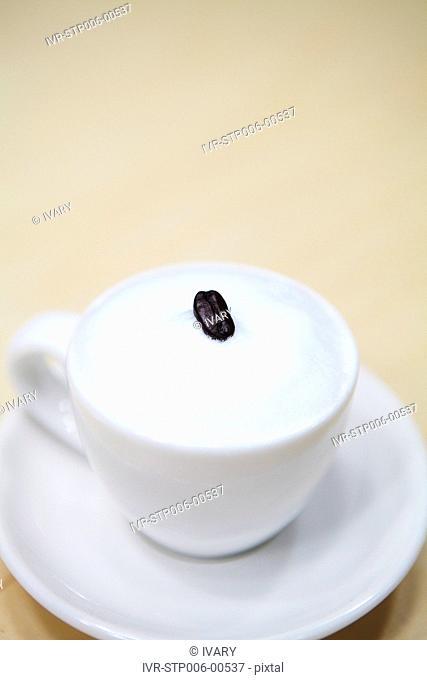 Espresso Coffee On Table