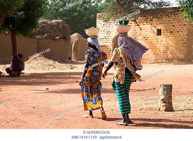 Two Women Outskirts of Djenne Mali