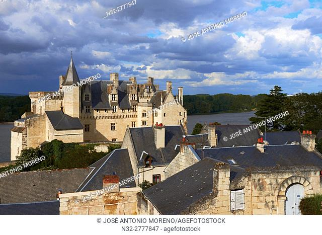 Montsoreau, Loire River, Castle, Labelled Les Plus Beaux Villages de France, The Most Beautiful Villages of France, Maine et Loire, Pays de la Loire