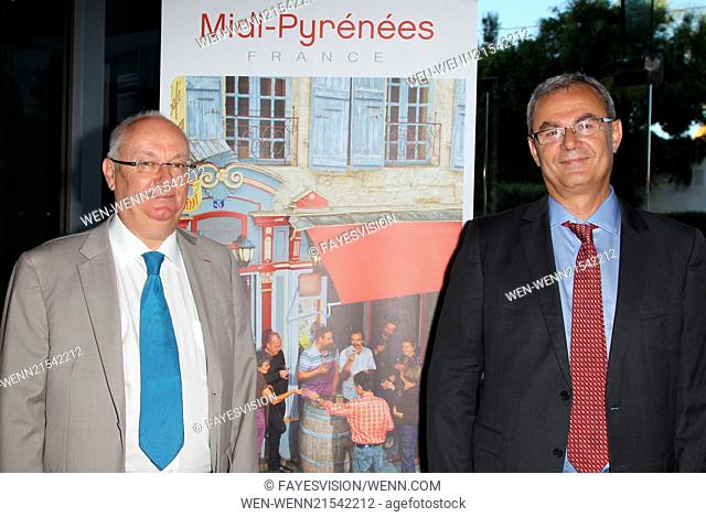 'The Hundred-Foot Journey' LA French Consulate Screening hosted by Destination Midi-Pyrenees Featuring: Philippe Guérin, Jacques Daoulas Where: Beverly Hills