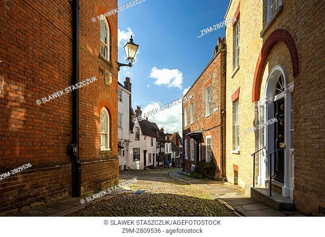 Historic market town of Rye, East Sussex, England. Part of Cinque Ports federation