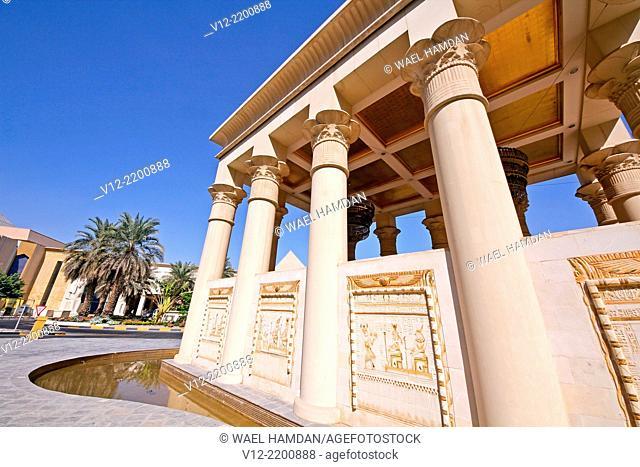 Wafi City Mall an Egyptian themed mall, Dubai, United Arab Emirates