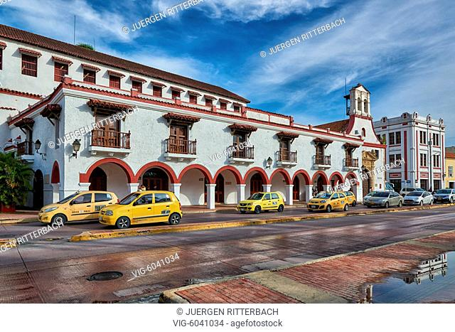 Teatro Colon, Cartagena de Indias, Colombia, South America - Cartagena de Indias, Colombia, 28/08/2017