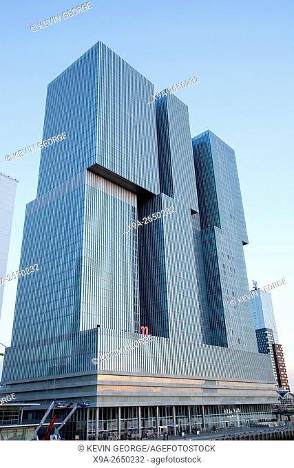 De Rotterdam Building, Rotterdam, Holland, Europe