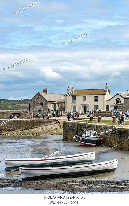 Fishing Harbor of St. Michaels Mount, Cornwall, England