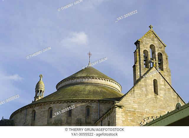 Sainte Croix church, Quimperle, Finistere, Bretagne, France