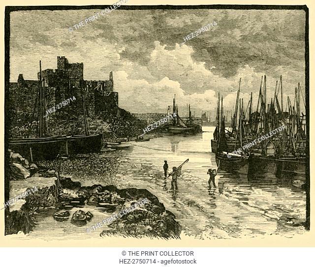 'Peel Castle', 1898. Creator: Unknown