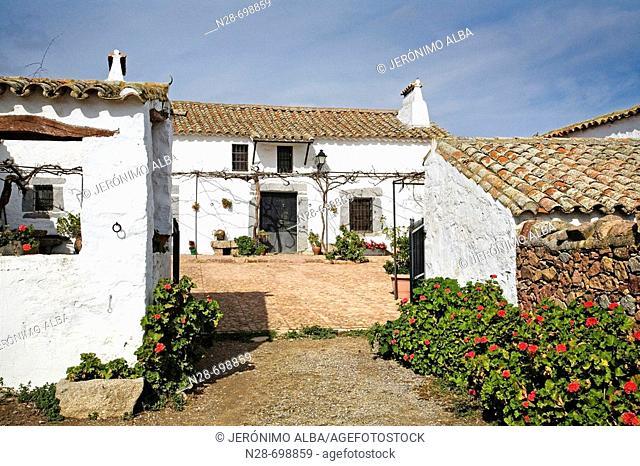 Cortijo. Andalusian Farmhouse. Spain