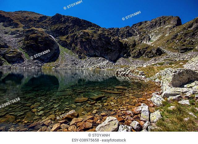 Malyovitsa peak and Elenski lakes, Rila Mountain, Bulgaria