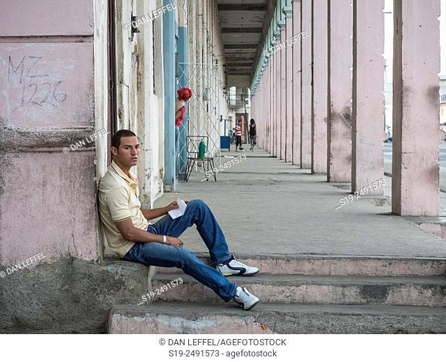 Street scene. Santiago de Cuba