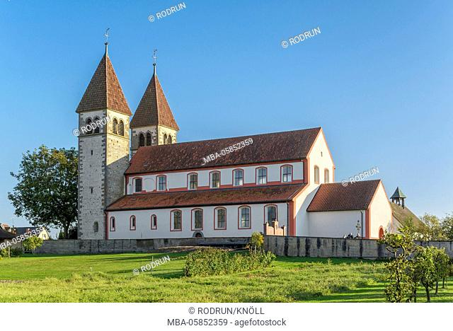 Germany, Baden-Wurttemberg, Reichenau - Niederzell, church St. Peter and Paul, north page