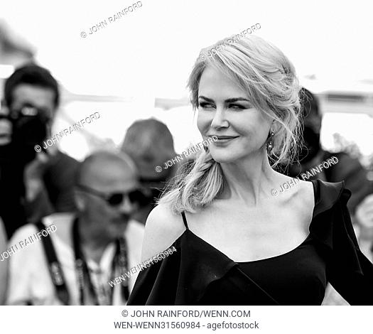 """70th Cannes Film Festival - """"""""Top of the Lake : China Girl"""""""" photocall Featuring: Nicole Kidman Where: Cannes, United Kingdom When: 23 May 2017 Credit: John..."""