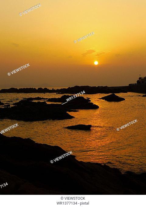 Qingdao Lu Xun Park Seaview