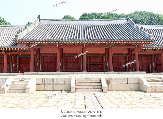 Jongmyo Shrine in Seoul, South Korea