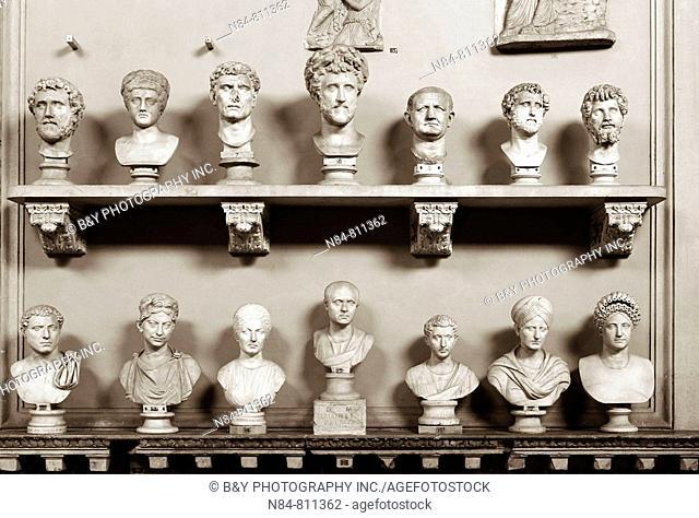 Museo Chiaramonti, Vatican Museums, Rome, Italy