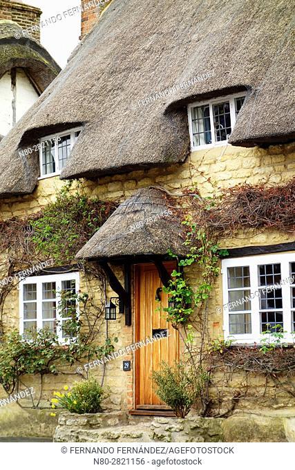 Cottage. Long Crendon. Oxfordshire. England