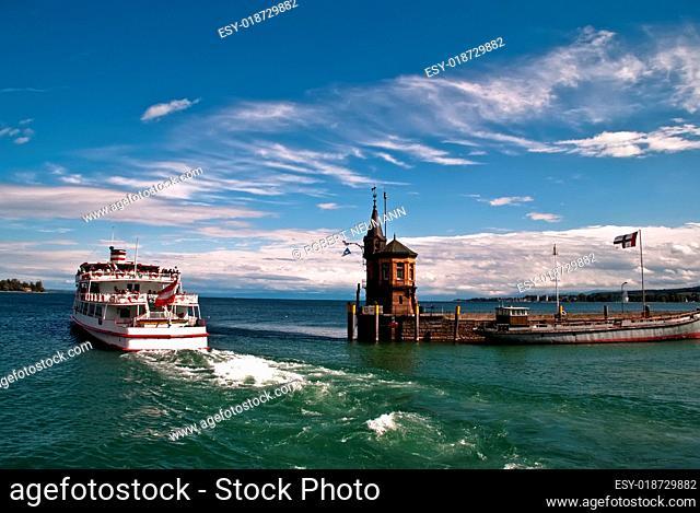 Hafenausfahrt Konstanz