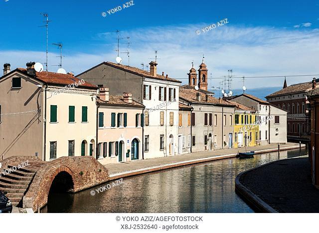 Italy, Emilia Romagna, Comacchio