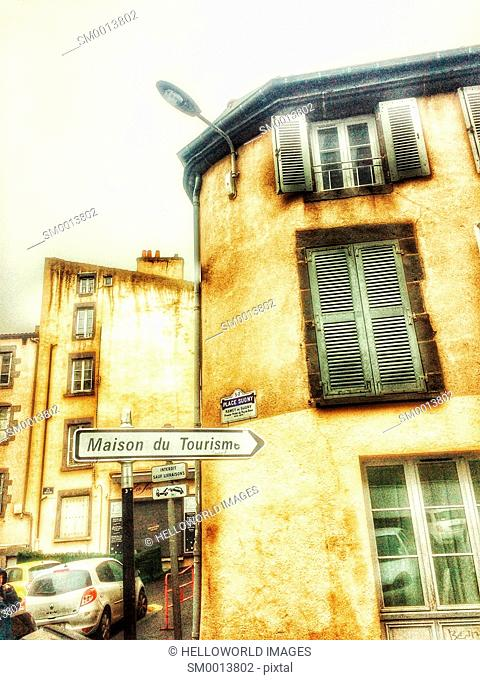 Place Sugny, Clermont Ferrand, Auvergne, France, Europe
