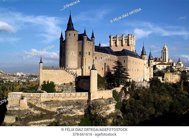 Segovia. Castilla-Leon. Spain. Alcazar