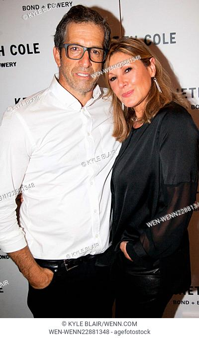 Grand Opening of the Kenneth Cole concept store in New York City Featuring: Kenneth Cole, Maria Cuomo Cole Where: New York, New York