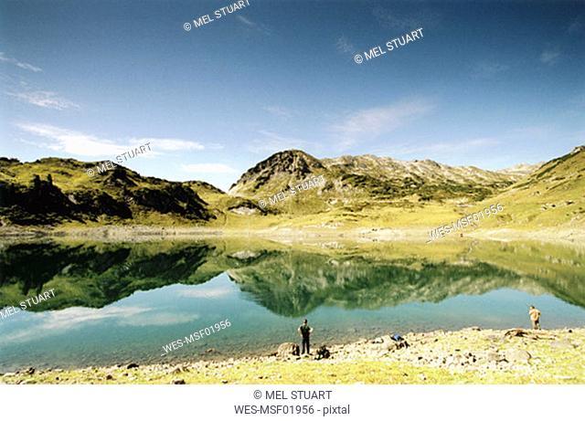 Austria, alps, Rappenlochschlucht