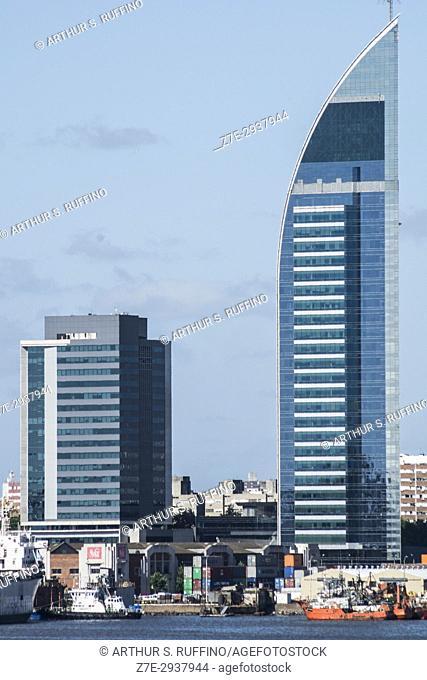 Telecommunications Tower (Torre de las Telecomunicaciones), Antel Tower (Torre Antel), Montevideo, Uruguay, South America