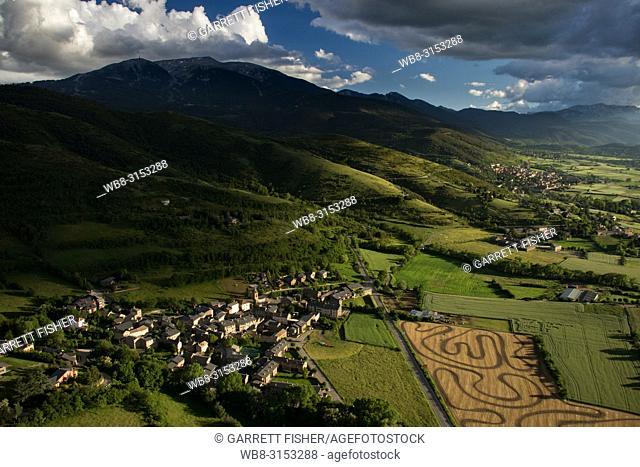 Urtx, Cerdanya, Catalunya - Aerial