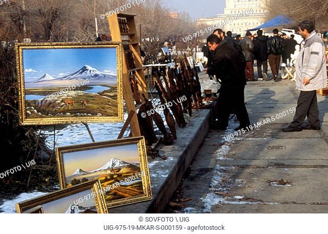 Vernisage In Yerevan, Armenia