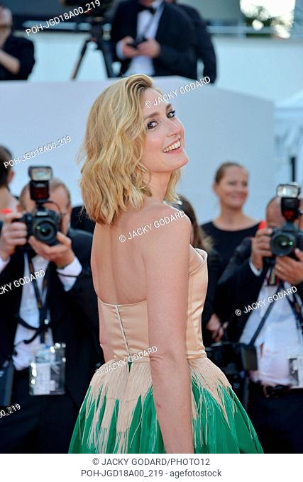 Julie Gayet Arriving on the red carpet for the film 'Ash Is Purest White' (Jiang hu er nv) 71st Cannes Film Festival May 11, 2018 Photo Jacky Godard