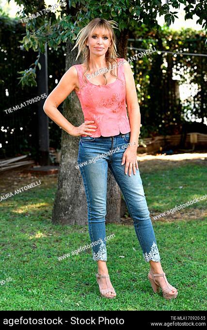 Alessandra Mussolini during the photocall of tv show 'Ballando con le stelle', Rome, ITALY-17-09-2020