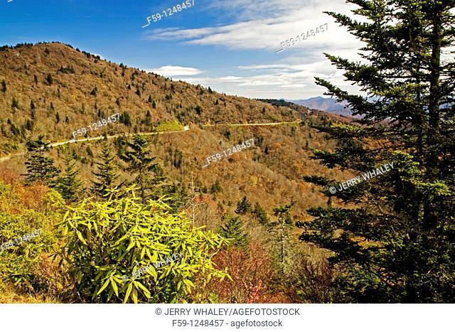 Autumn, Blue Ridge Parkway, NC